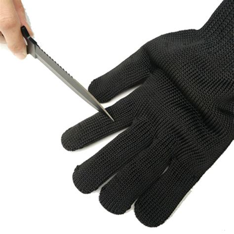 Safety Cut Proof Stab Resistant Stainless Metal Mesh Butche safety cut proof stab resistant stainless steel wire metal mesh butcher gloves ebay