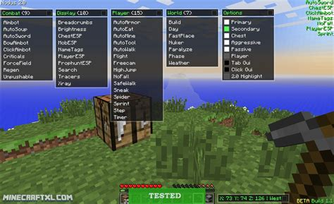 game hack cheat mod tuto minecraft hack cheats download hack with app