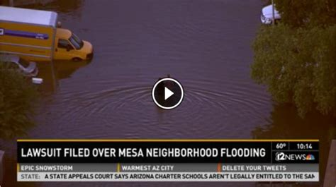 City Of Mesa Court Records Nearly 100 Mesa Residents Whose Homes Were Flooded After
