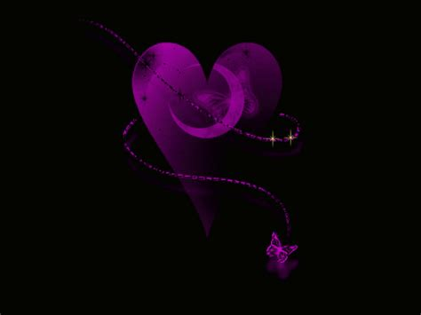 beautiful purple heart wallpaper purple heart wallpaper