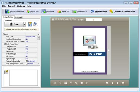 page template creator how to convert pdf to flip pdf free