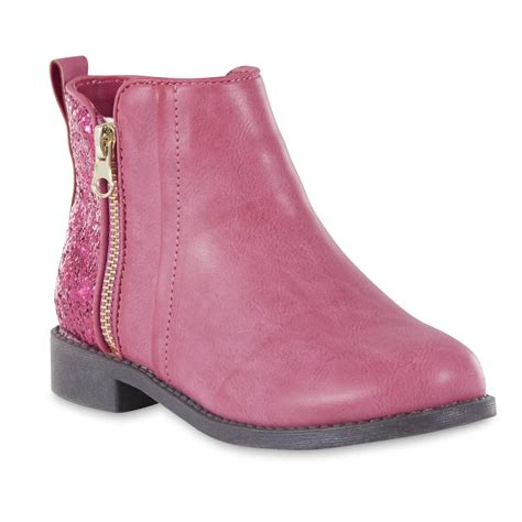 river blues sia pink glitter ankle boot