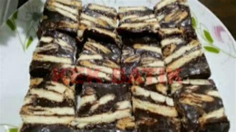Youtube Membuat Kek Batik | cara membuat kek batik youtube