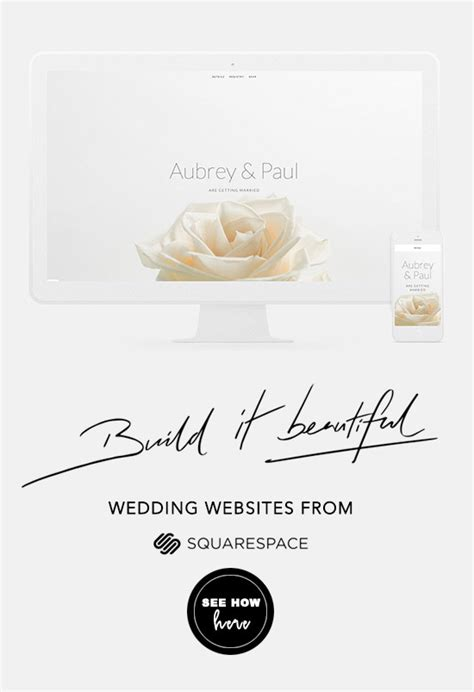 Mobile Friendly Wedding Websites From Squarespace Mobile Friendly Squarespace Templates