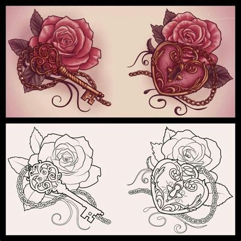 rose and locket tattoo best 25 locket tattoos ideas on locket
