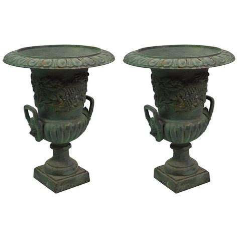 Cast Iron Vase by 20th Century Cast Iron Vases At 1stdibs