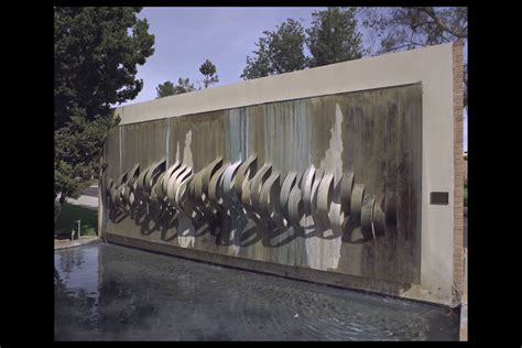 water wall cal state fullerton water wall waterfall walls pinterest