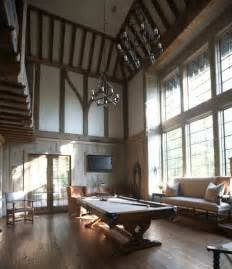 tudor home interior guest cottage traditional family room birmingham by tracery interiors