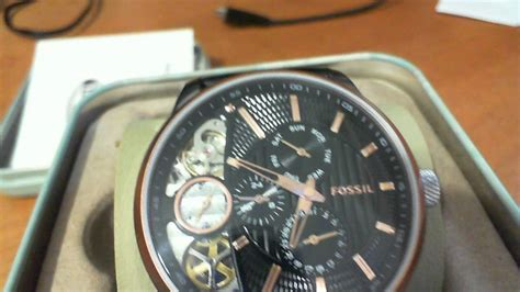 Fossil Me1146 rel 243 gio fossil me 1099 fme1099