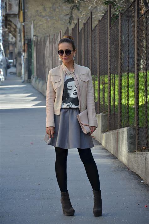 grey skirt dressedupgirlcom