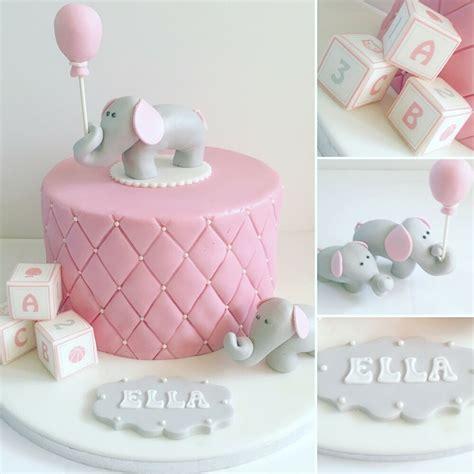 elephant cake topper  balloon edible sugar cake