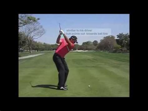 moe norman golf swing slow motion moe norman slow motion 7 iron face on golf swing