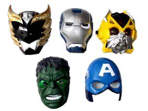 Topeng Nyala Superheroes 416 jual topeng nyala iron captain america bumblebee bima garuda