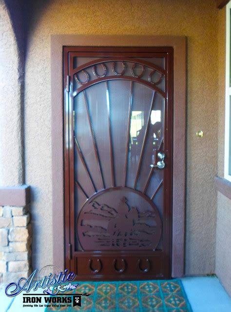 Front Door Security Products by Cheyenne Security Door Southwestern Front Doors