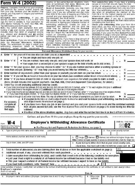 blank printable w 4 form printable w 4 tax form newhairstylesformen2014 com