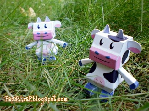 Cow Papercraft - sapi cow papertoy papercraft paradise papercrafts