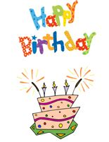 printable birthday cards quarter fold 4 best images of printable quarter fold birthday cards