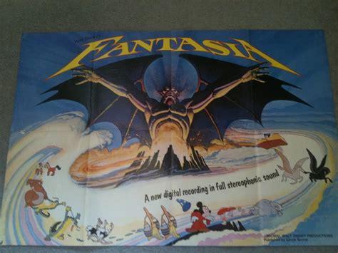 Scary Bedroom Object 17 Walt Disney Fantasia Souvenir Poster Magazine C