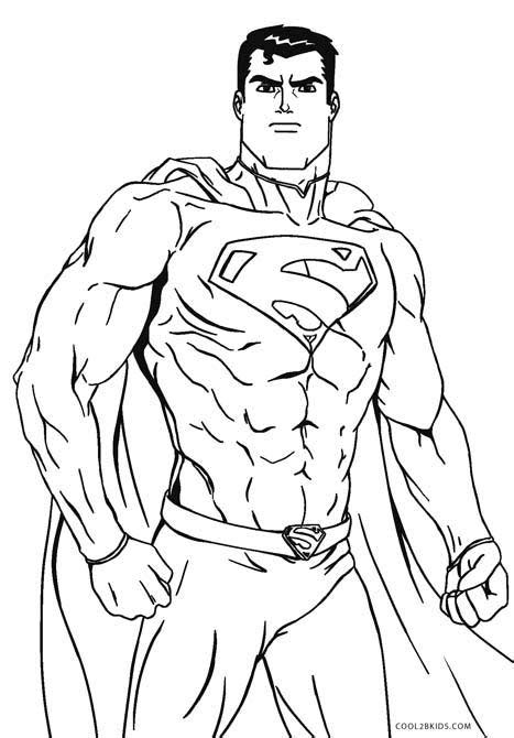 Free Printable Superman Coloring Pages For Kids | Cool2bKids