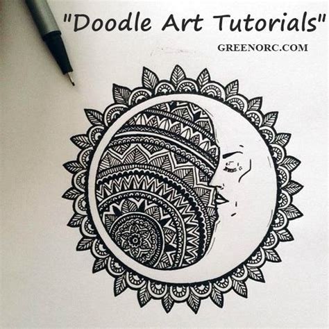 doodle sun meaning 45 creative doodle tutorials and exles