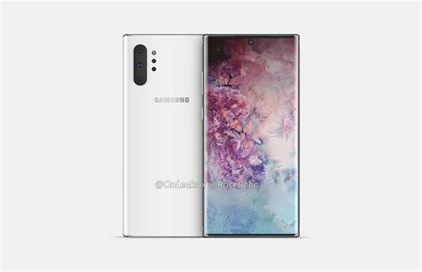 Samsung Note 10 by Samsung Galaxy Note 10 Pro Renders Show Cameras No 3
