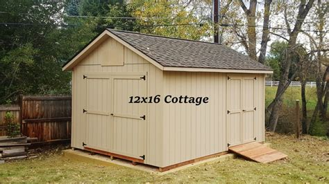 12 By 16 Storage Shed by 12x16 Cottage Storage Shed