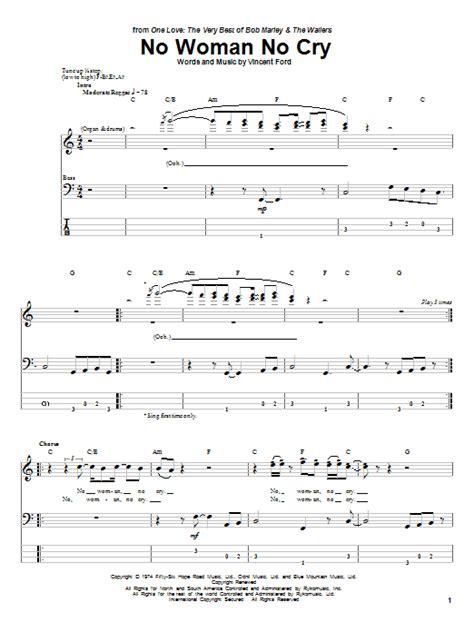 tutorial guitar no woman no cry no woman no cry by bob marley bass tab guitar instructor