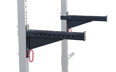 bench press spotter rack spotter arms for t 3 hd power rack with 2x3 quot bench