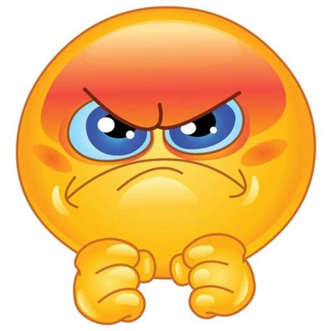 emoji angry 3 best angry smileys in yellow smiley symbol
