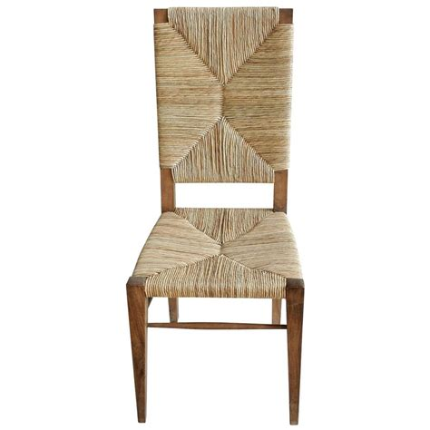 seagrass dining room chairs nantucket coastal beach seagrass teak dining chair kathy