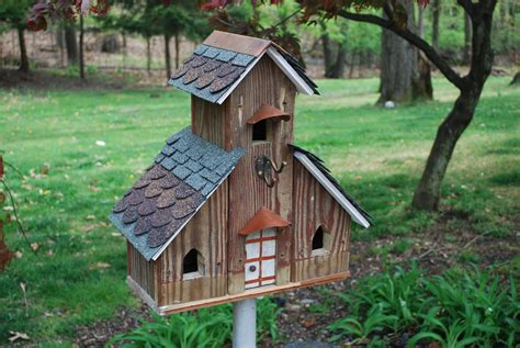 decorative bird houses for outside bird cages