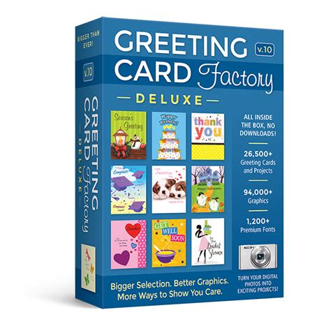 greeting card software greeting card factory deluxe 10 upgrade greeting card