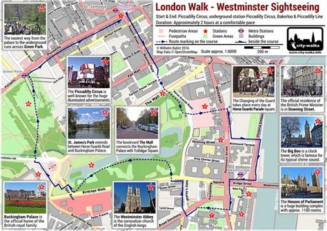 map of westminster westminster sightseeing walk free pdf map