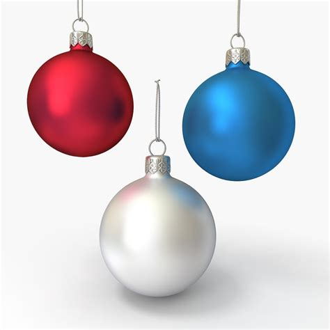 christmas ornament 3d max