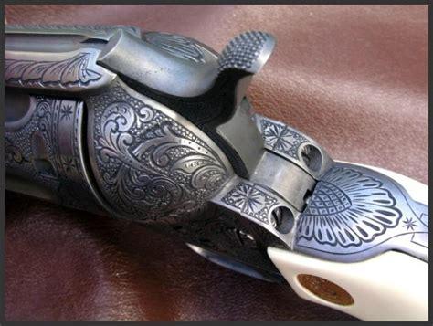 special engraving engraved colt saa 38 special by dennis reigel