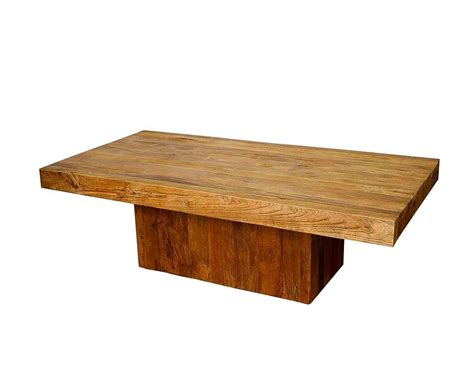 Contemporary Wood Coffee Table Teak Wood Coffee Table Pg Meade Contemporary