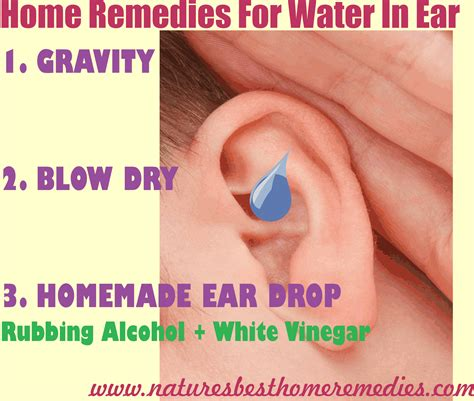 home remedy for swimmers ear 5 home remedies for water in ear
