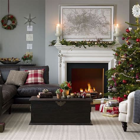 christmas wallpaper living room traditional christmas living room christmas decorating