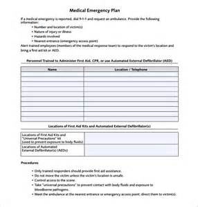Business Emergency Plan Template by Emergency Plan Template 13 Free Word Excel Pdf