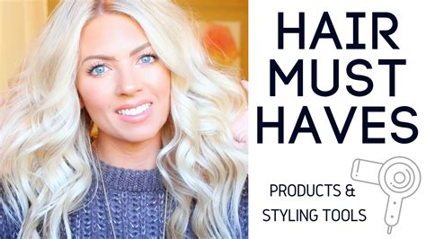must have hair sam schuerman must have hair products styling tools