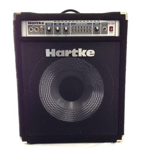 Bass A100 By W Musik hartke a100 100 watt combo bass lifier reverb