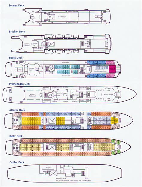 astor deck plan seereisenmagazin das astor schiffsportrait