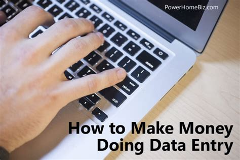 Home Business Ideas Data Entry How To Make Money Doing Data Entry