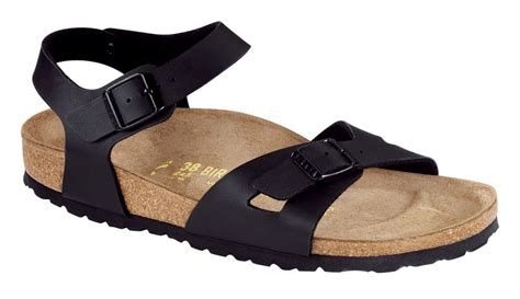 Gress Sandal Wedges Wanita Sdw92 black birko flor sandals s shoes gress schuh gmbh