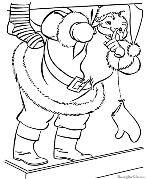 coloring pictures of father christmas christmas coloring pictures santa claus