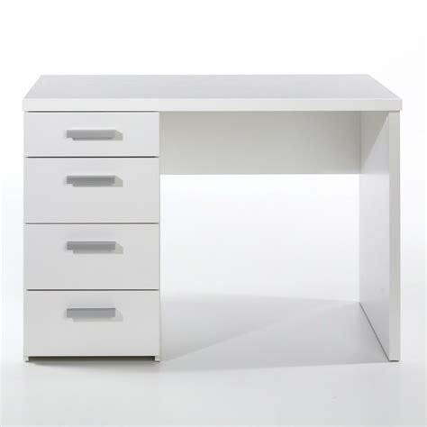 white desk drawers four drawer desk in white 8012049