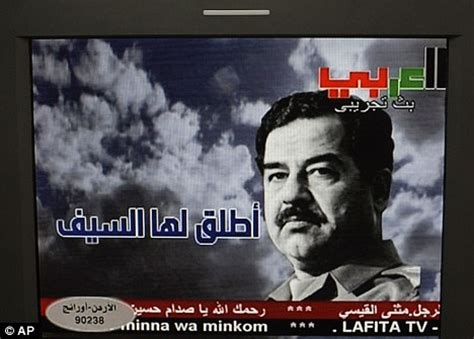 atari with saddam hussein based on a true story books tv mystery as saddam hussain channel appears on arab