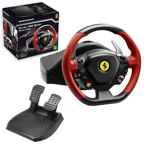 volante thrustmaster xbox one thrustmaster 458 spider racing wheel for xbox one