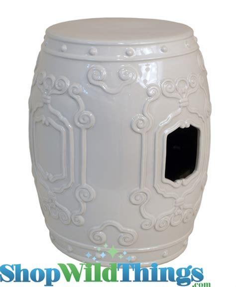 Ivory Garden Stool by Ceramic Garland Stool Ivory 17 5 Quot Indoor Outdoor
