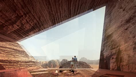 oppenheim architecture   design: desert lodges in wadi rum